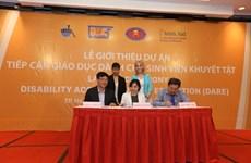 Accès à l'éducation pour les étudiants handicapés
