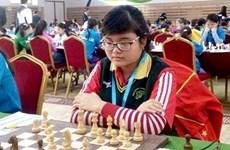 Echecs : succès vietnamien aux Championnats d'Asie juniors 2016