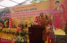 A Cao Bang, une messe de requiem pour les héros morts pour la Patrie