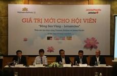 """Vietnam Airlines et Jestar Pacific coopèrent dans le programme """"Bong sen vang"""""""