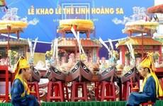 Cérémonie en mémoire des soldats en mission à Hoàng Sa