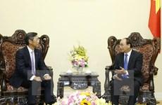 Le PM reçoit le directeur général de la banque Sumitomo Mitsui en Asie-Pacifique