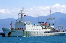 Un navire hydrographique de la Marine russe au Vietnam