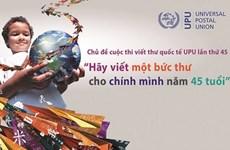 900.000 élèves vietnamiens participent au 45e concours de l'UPU