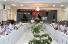 Le leader du PCV exhorte Khanh Hoa à mieux exploiter ses potentiels