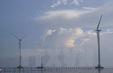 La 2e phase de la centrale éolienne R. de Corée - Tra Vinh
