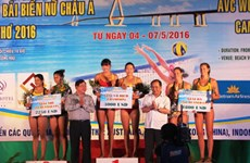 La Chine championne d'Asie de beach-volley féminin 2016