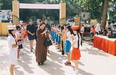 Inauguration de la 50e école investie par le Fonds pour les enfants vietnamiens