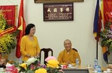 Hanoi : Félicitations pour le 2560e anniversaire de Bouddha