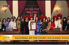 """Journée de l'""""ao dài"""" vietnamien en Californie"""