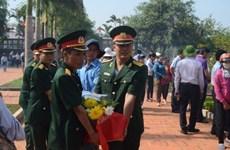 Inhumation des restes de soldats tombés au Cambodge et au Laos