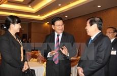 Le Premier ministre laotien termine sa visite au Vietnam
