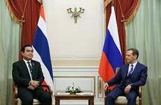La Russie et la Thaïlande signent des accords de coopération