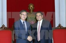 Un responsable du PCV reçoit l'ambassadeur du Laos