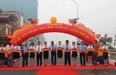 Hanoi : ouverture au trafic de l'autopont Hoàng Minh Giam - Nguyên Chanh