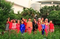 Jouer à des jeux folkloriques avec les pays d'Asie du Sud-Est