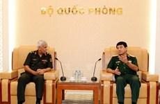 Une délégation de l'Académie nationale de la défense de l'Inde en visite au Vietnam