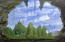 Exposition de peintures d'enfants à Hanoi