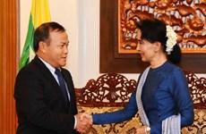 Renforcement des relations diplomatiques Vietnam-Myanmar