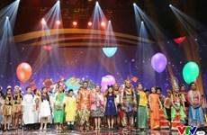 Un gala artistique lors du Festival des enfants de l'ASEAN