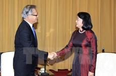 La vice-présidente reçoit des dirigeants de l'Etat d'Australie-Méridionale