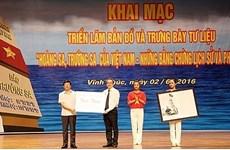 Vinh Phuc : exposition sur Hoàng Sa, Truong Sa du Vietnam