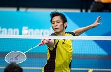 Badminton : Nguyen Tien Minh et Vu Thi Trang, champions de Ciputra Hanoi 2016