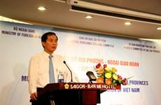 Rencontre entre les localités du Tay Nguyen et le corps diplomatique au Vietnam