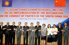 Réunion des hauts officiels ASEAN-Chine à Ha Long