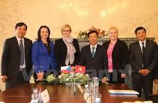 Approfondissement de la coopération culturelle et touristique avec la R. tchèque