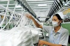 Exportations textiles: légère hausse de 6 % en 5 mois