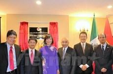 Inauguration du nouveau siège du Service commerciale du Vietnam au Mexique