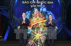 Le président Trân Dai Quang exhorte la presse vietnamienne à se rénover