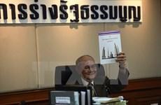 La Thaïlande organisera un référendum sur le projet de constitution en août prochain