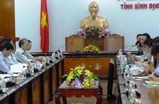 Marubeni Lumber souhaite construire une usine de transformation de bois à Binh Dinh
