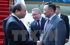 Le Premier ministre Nguyên Xuân Phuc arrive à Oulan-Bator