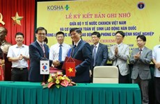 La R. de Corée soutient l'amélioration de l'hygiène et de santé au travail