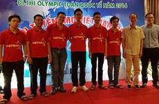 Maths : le Vietnam remporte six médailles aux Olympiades internationales