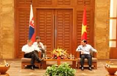Le Premier ministre slovaque se rend à Da Nang