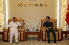 Renforcement de la coopération entre les deux armées Vietnam-Japon