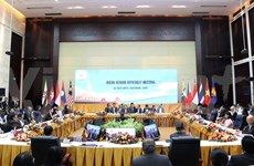 Ouverture d'une conférence de hauts officiels de l'ASEAN au Laos