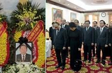 Décès de Samane Vinhaket : condoléances au Laos