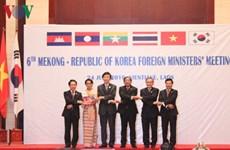 Mékong-République de Corée: les ministres des Affaires étrangères réunis à Vientiane