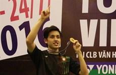 Clôture du tournoi de badminton Yonex Sunrise Vietnam Open