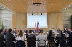 Le 4e Dialogue économique de haut niveau Vietnam-France à Paris