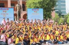 Programme d'échange entre enfants Vietnam-Laos-Cambodge
