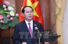 Messages de félicitations aux hauts dirigeants vietnamiens