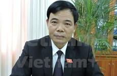 Le nouveau ministre Nguyên Xuân Cuong  propose des mesures de développement de l'agriculture