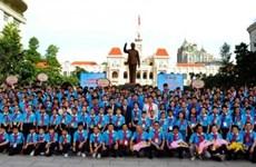 Echanges culturels entre enfants du Vietnam, du Laos et du Cambodge