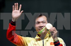 Le PM congratule la délégation sportive vietnamienne aux JO d'été de 2016